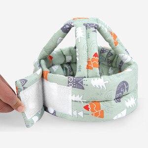 Последняя малыш новорожденный младенец для маленьких мальчиков и девочек защитный шлем, не замненная шляпа, удобные, мягкие, хлопковые, шляпа|Шапки и кепки|   | АлиЭкспресс
