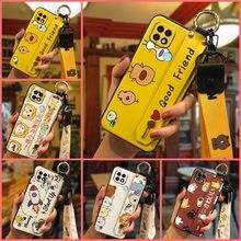 Funda de teléfono a prueba de golpes para OPPO Realme C21, cubierta Original antigolpes, suave y duradera