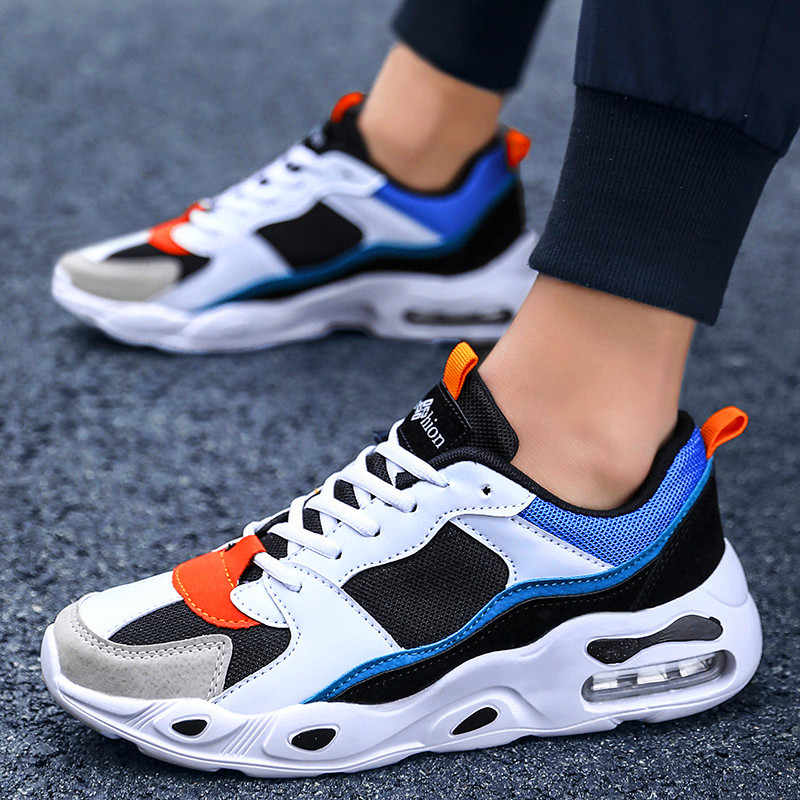 Men's lace up casual shoes breathable