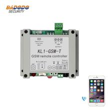 GSM wireless remote relay controller switch access controller with 10A relay output NTC temperature sensor