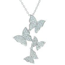 Женское ожерелье с подвеской в виде бабочки l'amour &