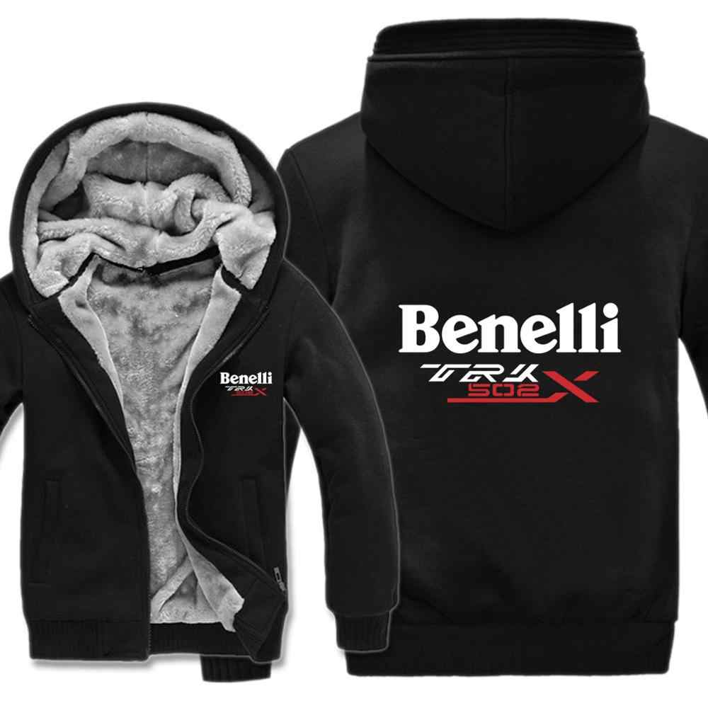 Benelli trk 502x 후드 카툰 자켓 thicken hoody 지퍼 winter fleece benelli trk 502x 스웨트
