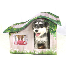 Pet cotton kennel dog house dog house indoor dog house warm nest dog mat autumn and winter pet kennel jiahui a038 detachable cotton fabric sponge pet dog cat house kennel red white grey