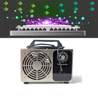 28g/h Ozone Generator Ozone Machine Metal timing Purifier Air cleaner Disinfection Sterilization Cleaning Formaldehyde 220V/110