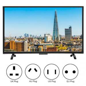 TV Curved-Tv 32inch Large-Screen Intelligent HDMI 3000R 1920x1200 110V