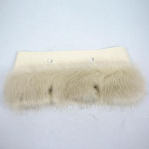 Image 3 - huntfun New Women Bag Faux Fox Fur Beige Plush Trim for O BAG Thermal Plush Decoration Fit for Classic Big Mini Obag