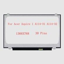 """140 """"для acer aspire 1 a114 31 32 ноутбук ЖК дисплей Экран"""