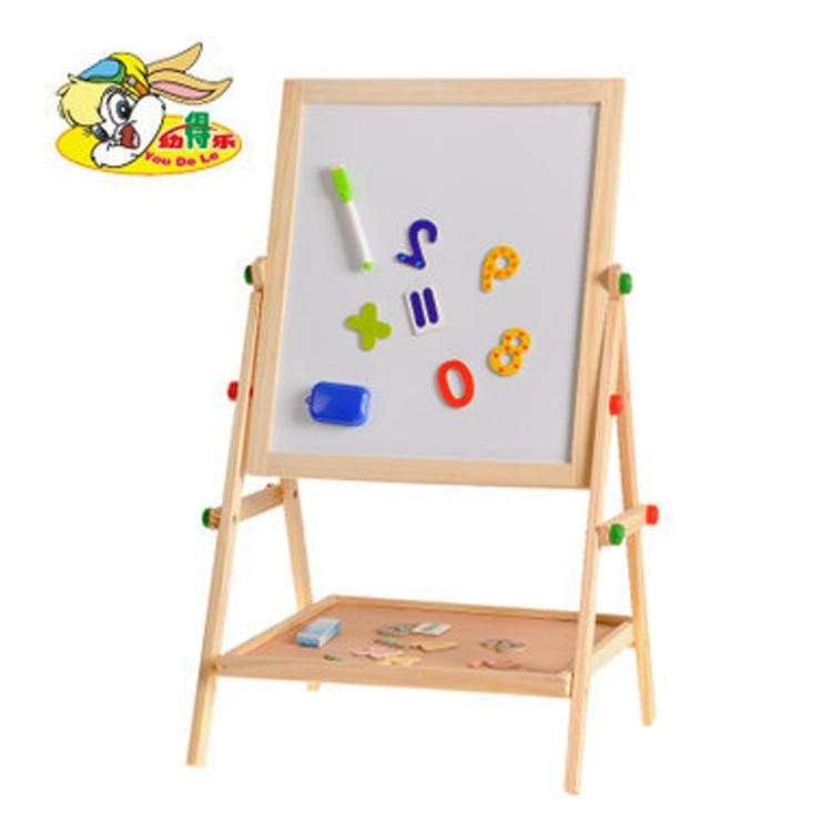 Multi-functional In CHILDREN'S Drawing Board Writing Board Magnetic Drawing Board Height Adjustable Wooden Drawing Board Wholesa