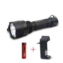 T6 High Power LED Keychain Flashlight Rechargeable 4 Modes Waterproof  Camping Tactical Torch Light by 18650 Battery