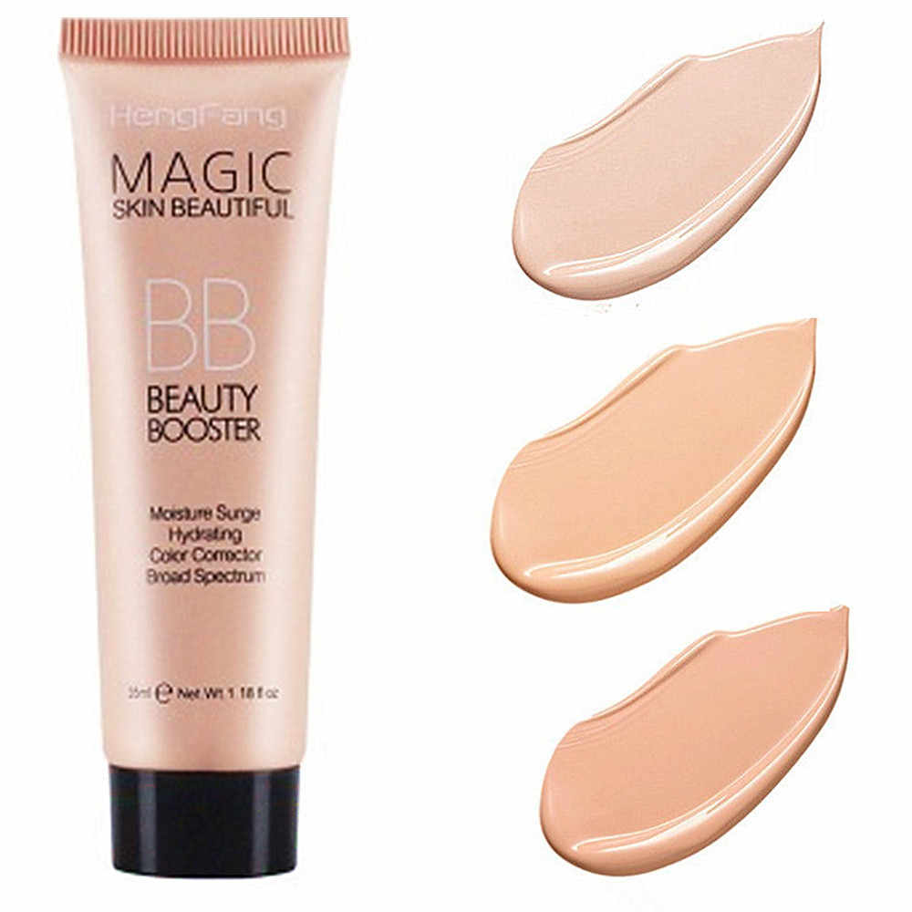 1PCS Long Lasting BB Cream Face Care Foundation Base BB CC Cream Makeup Brightening Concealer Cream Whitening Concealer Primer