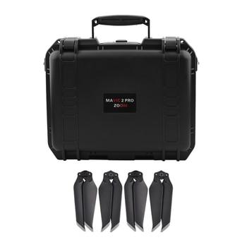 Propeller + Waterproof Storage Box Travel Portable Carrying Case Compatible for Dji Mavic 2 Pro/Dji Mavic 2 Zoom Drone
