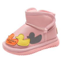 Зимние ботинки на толстой плюшевой подкладке для малышей милые