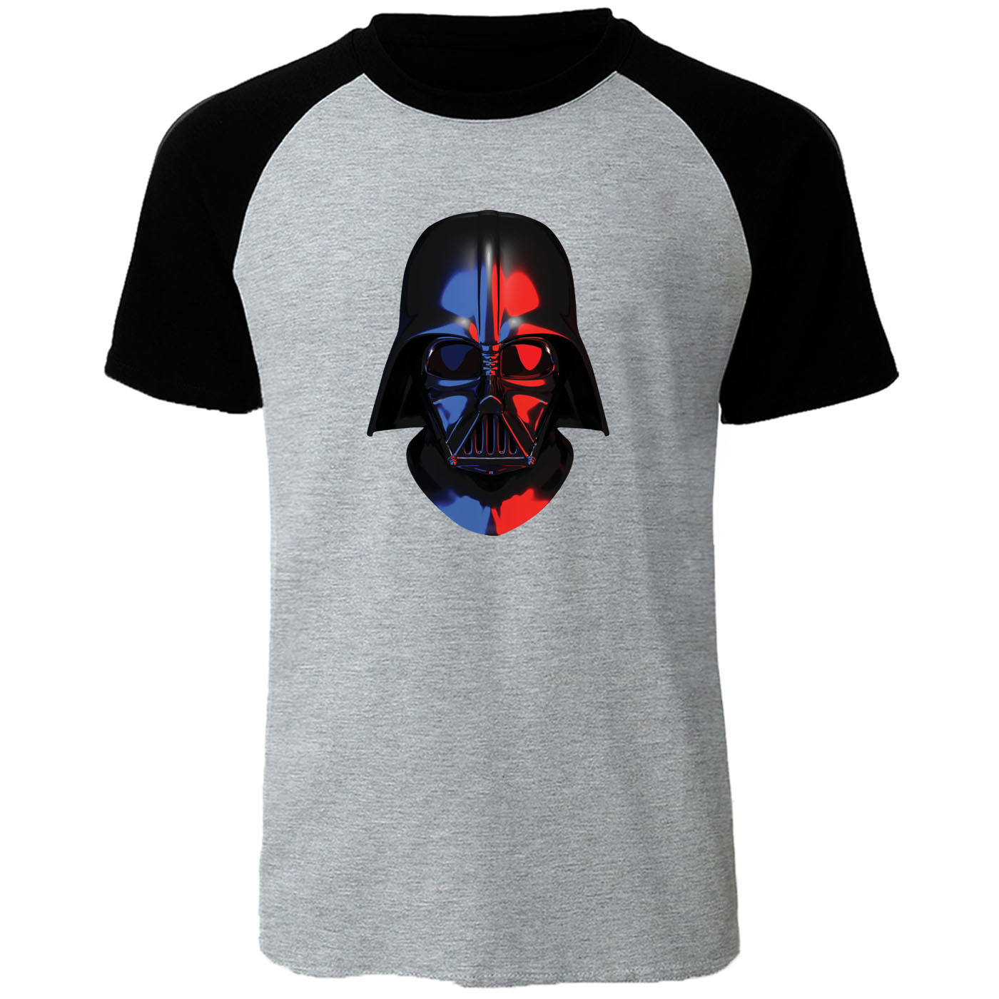 star wars T-shirt 2020 Summer Cotton t shirts men Funny novel Men's tops tee Harajuku Raglan Short Sleeve Darth Vader Streetwear image