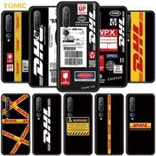 Schwarz Abdeckung für Xiaomi Mi Poco X3 NFC F1 Hinweis 10 Lite 9T CC9 CC9e 9 SE 10T pro 5G Weichen Silikon Telefon Shell Dhl Express Coque