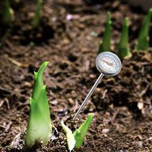 Почвенный термометр из нержавеющей стали 127 мм ствол Цельсия диапазон температуры почвы термометр для заземления компост садовая почва
