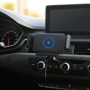 Image 2 - Carregador sem fio do carro dobrável tela 10w qi carregador de telefone rápido suporte para xiaomi samsung galaxy fold2 fold2 s10 iphone huawei companheiro x