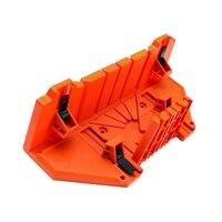 다기능 연귀 톱 상자 캐비닛 0/22. 5/45/90도 톱 가이드 목공 오렌지, 14 인치 클램프