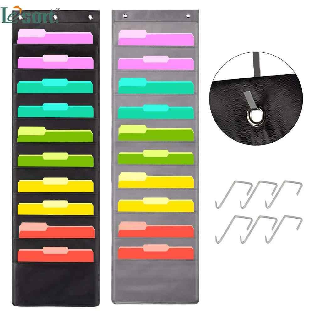 10 Pocket Wall Hanging File Folder