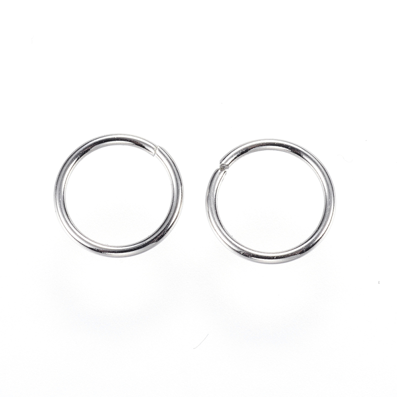 2000PCS 304 Stainless Steel Jump Rings Close but Unsoldered Jump Rings 5x1mm