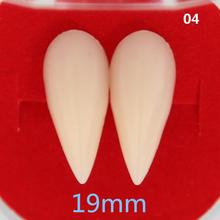 13/15/17/19MM Halloween Costume Vampire Dentures Zombie Teeth COSPLAY Masquerade Props