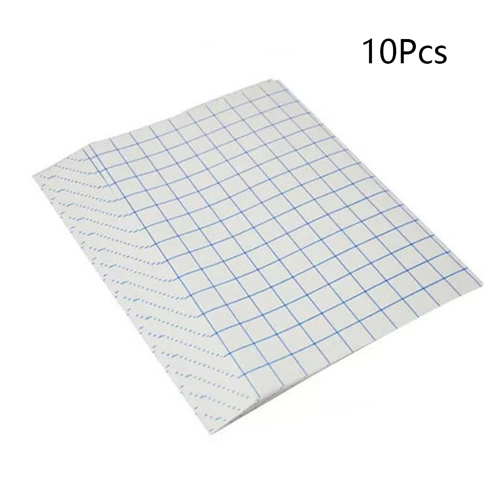 10 Pcs T Shirt Iron On For Light Fabrics A4 Sheets Printing Paper Transfer Paper