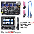 BIGTREETECH SKR MINI E3 V2.0+TFT35 E3 V3.0 Touch Screen Control Board TMC2209 3D Printer Parts For Creality Ender 3 Upgrade CR10