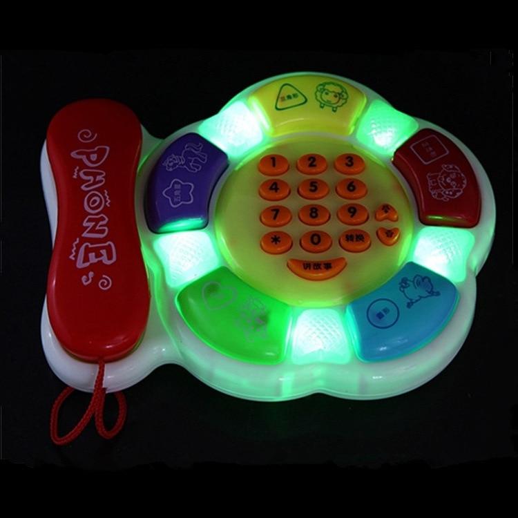 Bel 5033 Storyteller Smart Learning Phone Set Toy Educational Cartoon Music Phone Set.