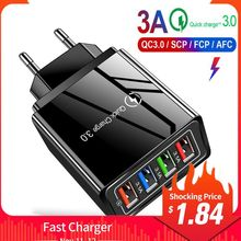USB Charger Quick Charge3.0 4.0 QC3.0 Mobile Phone