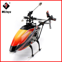 цена на High Quality WLtoys V912 Large 52cm 2.4Ghz 4Ch Single Blade Remote Control RC Helicopter Gyro RTF