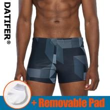 Datifer Man Swim Trunks Hot Breathable Swimwear Men's Swimsuits Boxer Briefs Sunga Maillot De Bain Beach Shorts