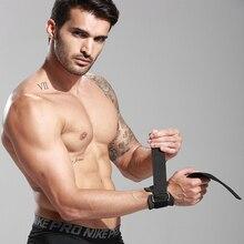 Тренажерный зал тренировки мощность тренировочный ремешок для поднятия веса обертывания рук бар поддержки запястья