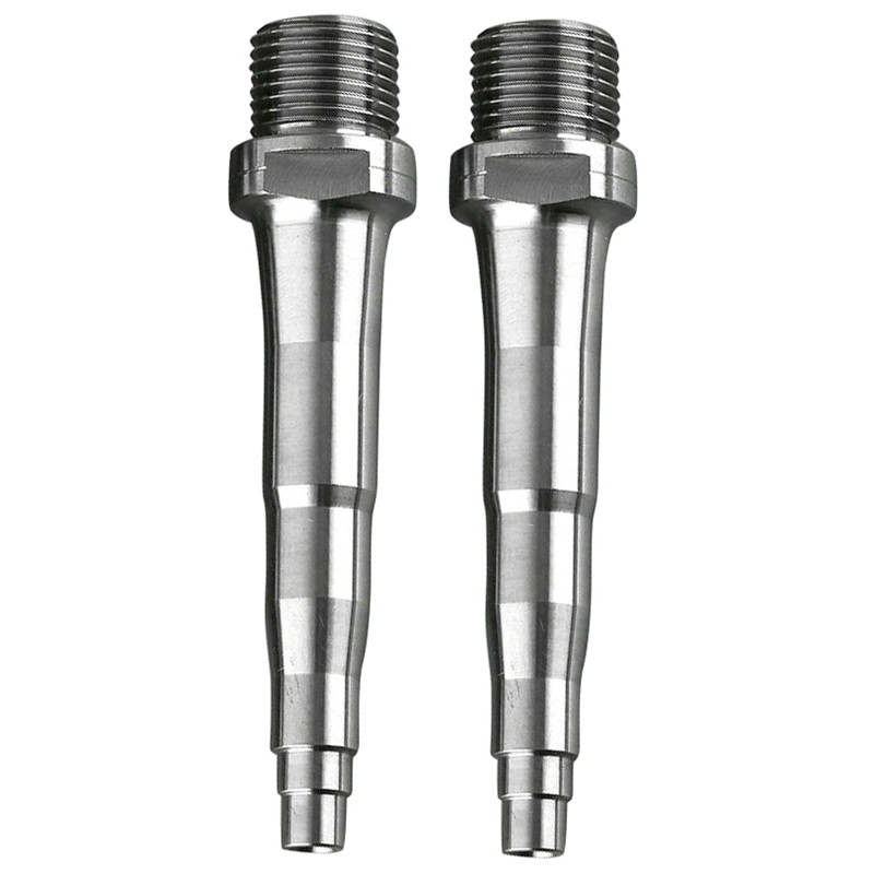 2Pcs Bicycle Titanium Pedal Spindles Fit For SpeedPlay Zero X1 X2 & Light Action 78Mm