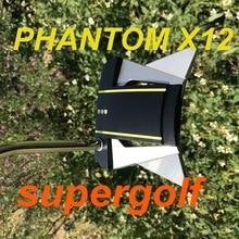 Nova qualidade oem putter phantom x12 putter golfe com 32/33/34/35/36 polegada headcover phantom x 12 clubes de golfe