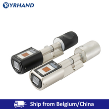 L6SRB Fingerprint Smart Lock Electronc App cylinder door lock EU Model