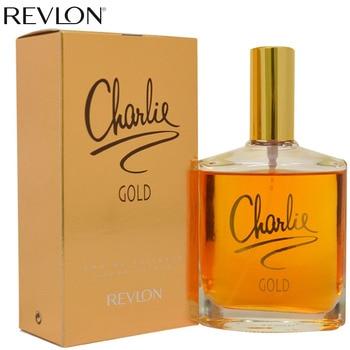 Revlon parfüm für frau Lange Anhaltende Parfums Charlie Gold Blumen Früchte Geschmack Duft-3,4 unzen EDT Spray