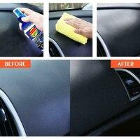Plastic Part Retreading Agent Wax Car Dashboard Maintenance Care Leather Seat Nano 6