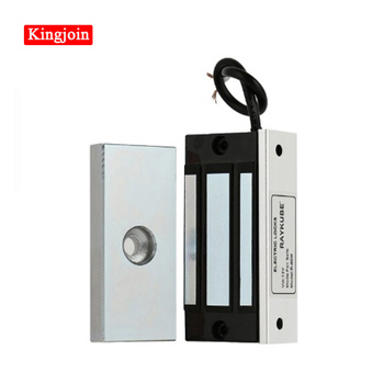 60kg 100lbs Electric Magnetic Lock 12V Electronic Door Locks Electric Cabinet Electromagnetic Drawer Access Control Security lpsecurity 60kg 12v wooden gate door electric magnetic lock keypad rfid door access control system kit with 10 tags