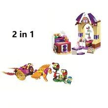 2 pçs/lote Bela Elfos 10408 10693 O Dragão Santuário de Blocos de Tijolos de Construção DIY Brinquedos Educativos Amigos brinquedos para as crianças