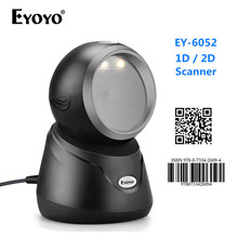 Barcode Scanner Eyoyo 2d Image-Sensing Omnidirectional Desktop Automatic USB 1d-Bar