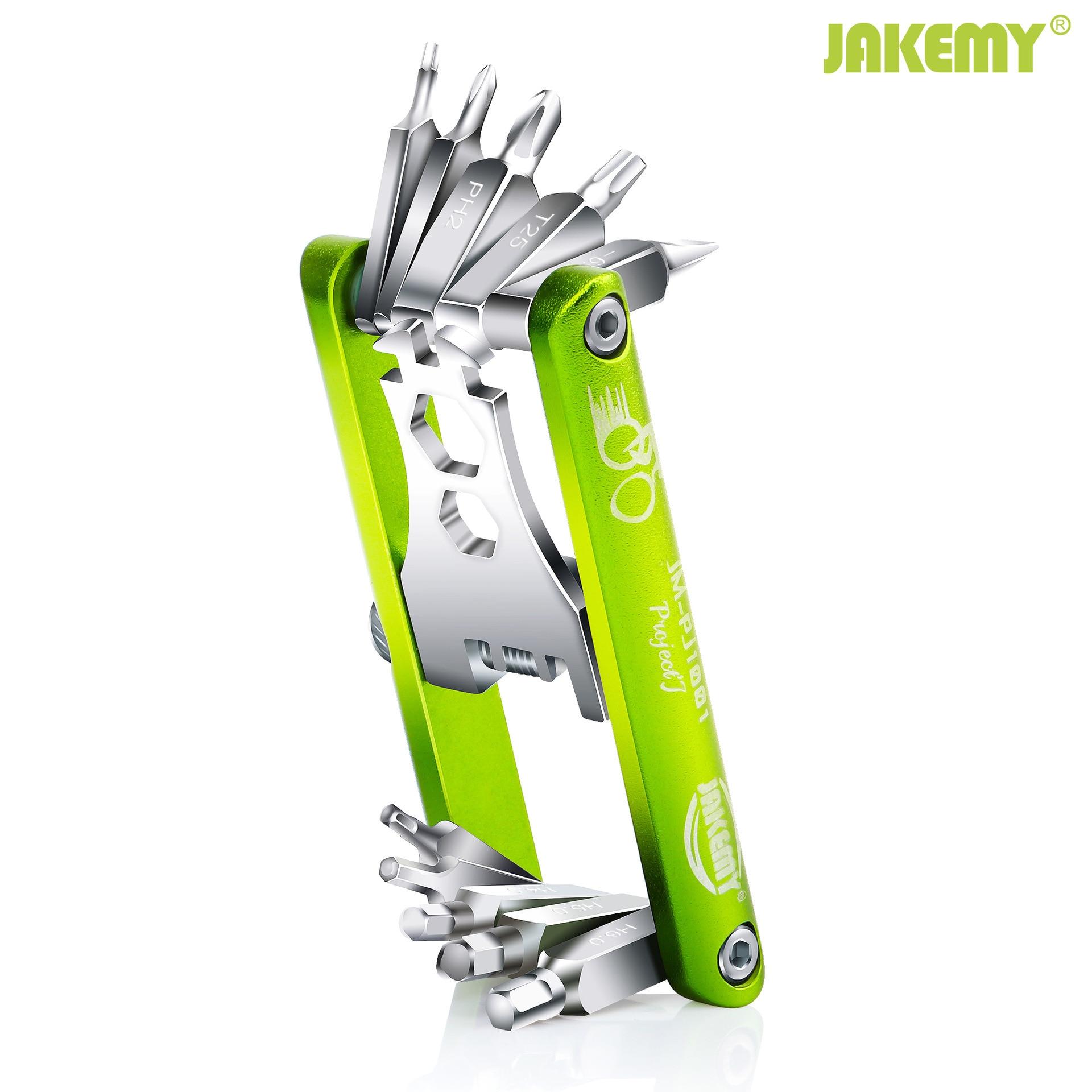 Multifunction Professional Bicycle Repair tool set  Folding tool diy pocket screwdriver for bike (PJ -1001)