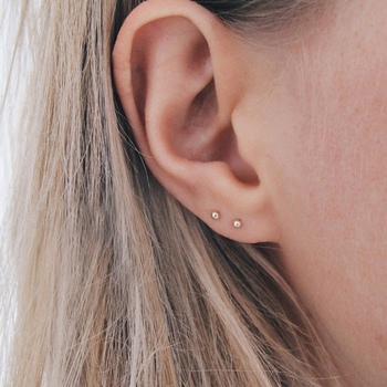 Laramoi Simple Stud Earrings Women Korean Geometric Stainless Steel Earings Fashion Jewelry Wholesale/Dropshipping - discount item  20% OFF Fashion Jewelry