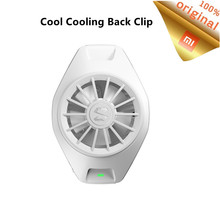 Original Xiaomi Cool Cooling Back Clip Type C Bass Operation Mini Radiating Device For Xiaomi iPhone Huawei Sumsung Mobile Phone