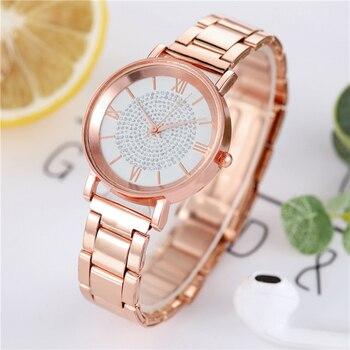 Luxury Watch For Women – Magnetic Women Bracelet Watch For Female