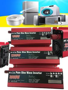 Sine-Wave-Inverter Voltage-Transformer-Power Led-Display 220V Pure 110V 2200W/3000W 12V/24V