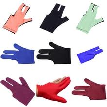 Glove-Pool Snooker-Billiard-Cue Three-Finger-Gloves Unisex-Accessories 1pc for Anti-Skid
