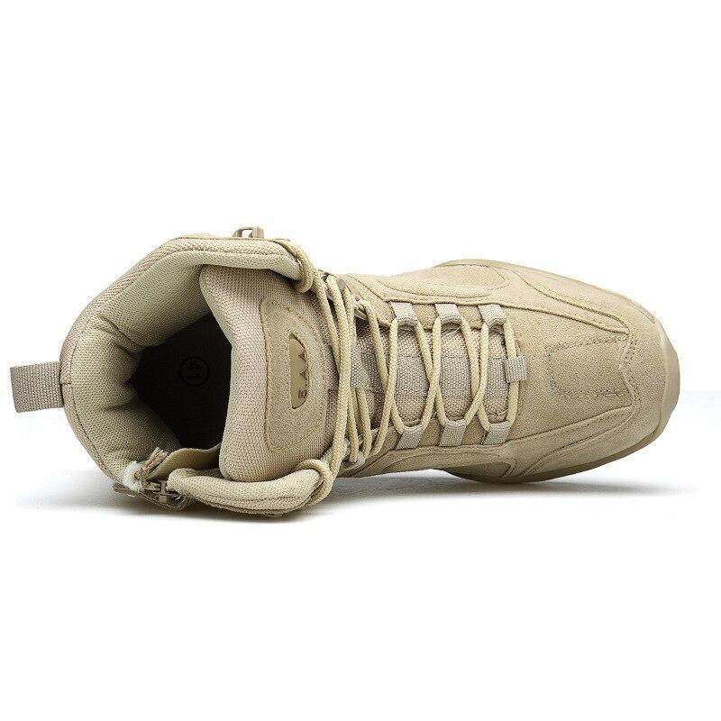 2018 Autumn And Winter New Style Men Outdoor Tactical Boots Wear-Resistant Anti-slip Combat Boots Secret Service Shoe 517