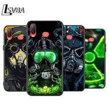 Dj homem antigas máscara para samsung galaxy a9 a8 estrela a750 a7 a6 a5 a3 plus 2018 2017 2016 preto caso do telefone capa macia
