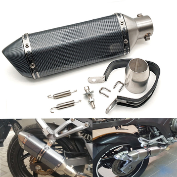 51MM Universal Motorcycle modified exhaust pipe muffler Exhaust System For BMW f650 f700gs F800S F800ST f 800 r HP2 Enduro