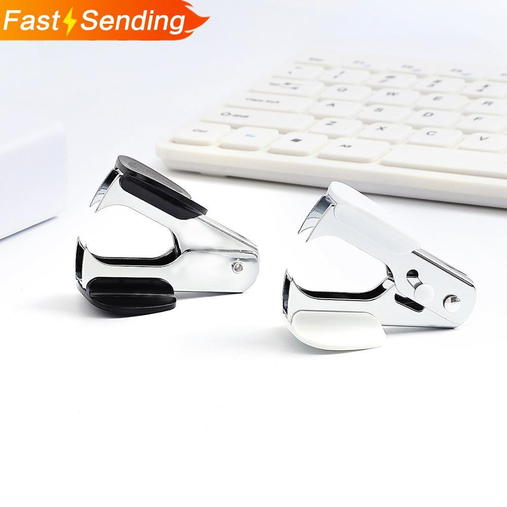 1pc Random Creative Metal Staple Remover Office Daily Tools Nail Puller Simplicity Office Supplies