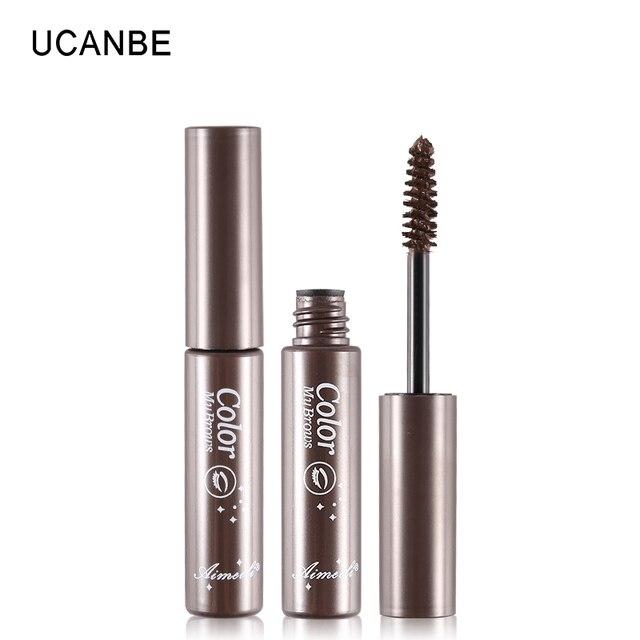 3 Colors Natural Eyebrow Enhancers Gel Tattoo Waterproof Eyebrow Mascara Cream Dye Eye Brow Tint Makeup Long Lasting Brown Gel 1